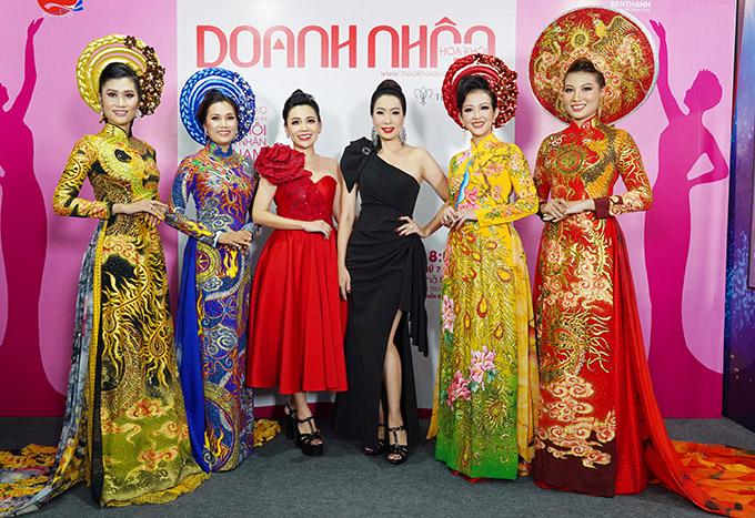 Cô tự tin đọ sắc vóc với các nữ doanh nhân - thí sinh của cuộc thi Hoa khôi Doanh nhân 2020.