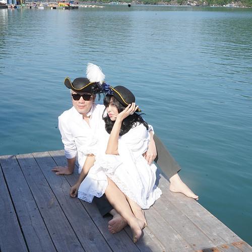 Ca sĩ Thanh Lam tận hưởng cuộc sống hạnh phúc bên bạn trai bác sĩ.