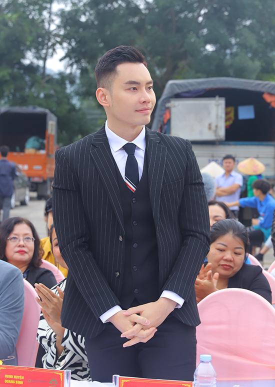 MC, người mẫu Mạnh Khang.