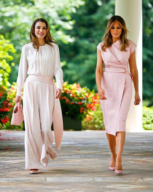 Bà Rania là nhân vật hoàng gia được chú ý nhất tại Jordan.