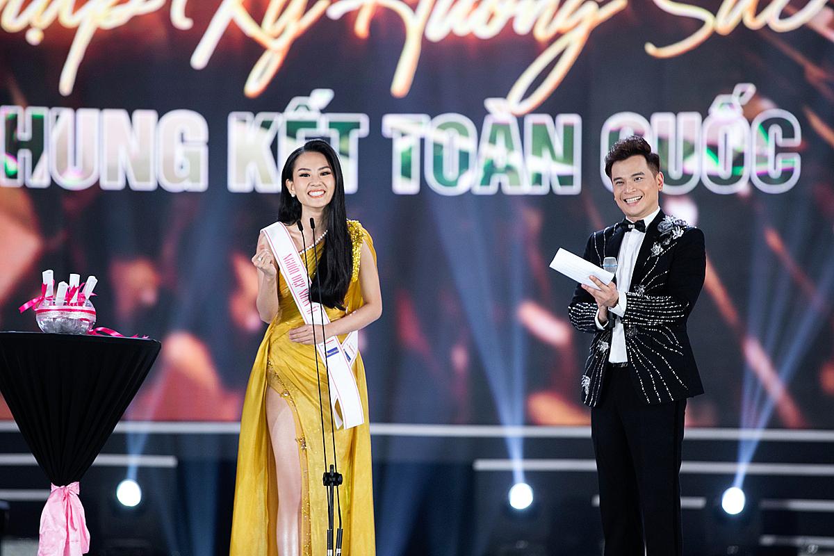Huỳnh Nguyễn Mai Phương là Người đẹp Nhân ái của cuộc thi Hoa hậu Việt Nam 2020.