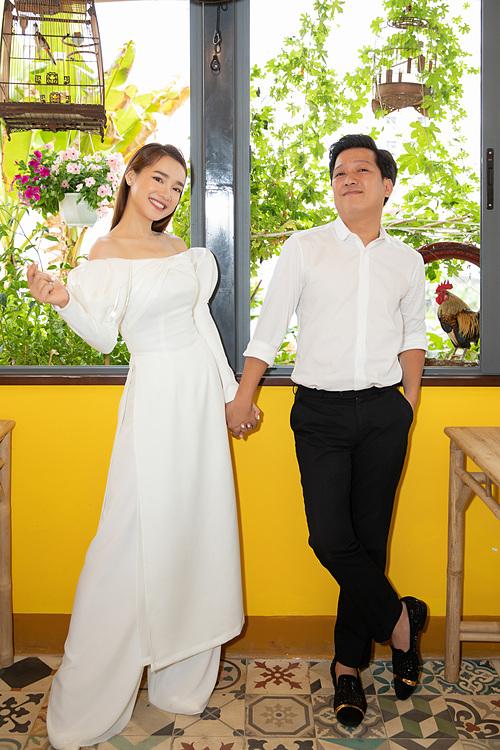 Vợ chồng Nhã Phương - Trường Giang.
