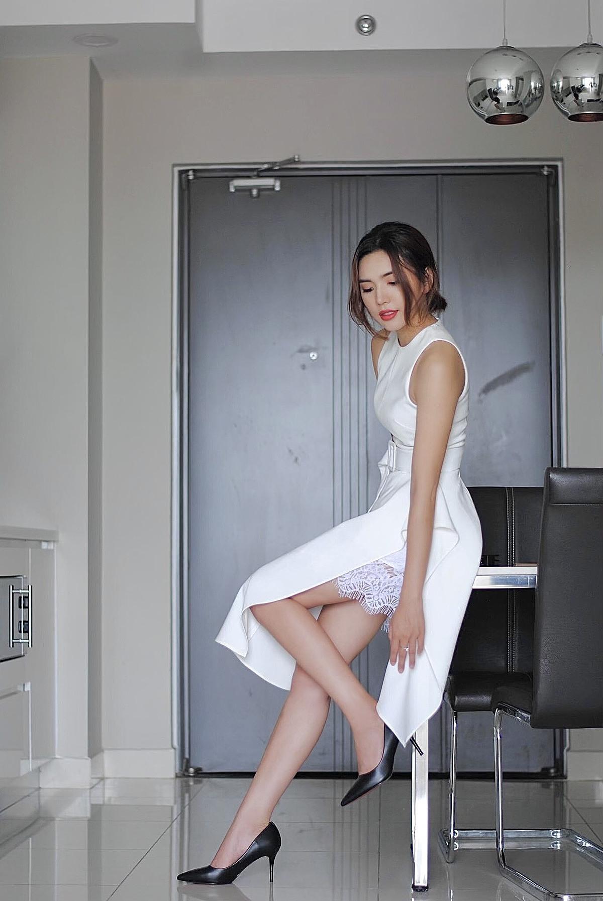 Thời trang BIM kết hợp nhiều phong cách làm toát lên vẻ đẹp sang trọng, quý phái cho quý cô.