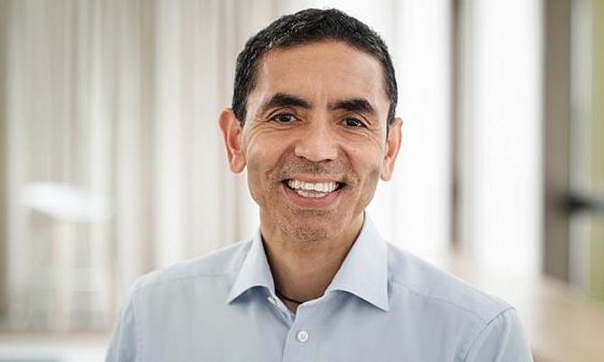Giáo sư Ugur Sahin, nhà đồng sáng lập kiêm CEO của hãng công nghệ sinh học BioNTech. Ảnh: BioTech.