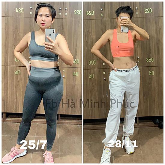 Mức cân 54 kg với tỷ lệ mỡ cao khiến NTK không tránh khỏi tình trạng mệt mỏi, uể oải.