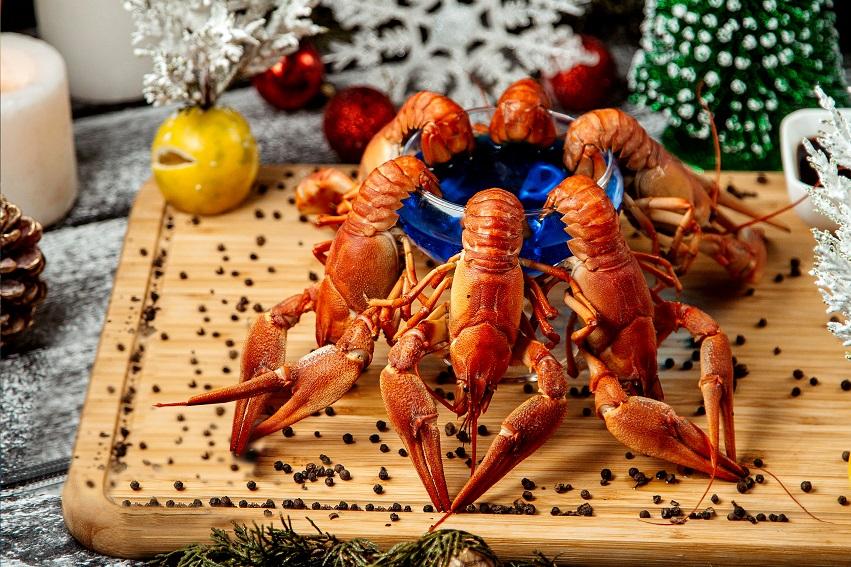 Thực đơn Giáng sinh hấp dẫn tại khu nghỉ dưỡng.
