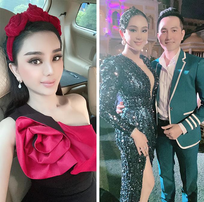 Trước đó, khi cùng ông xã Phi Hùng tới dự tiệc tại gia ở huyện Hóc Môn, TP HCM vào trưa 12/12
