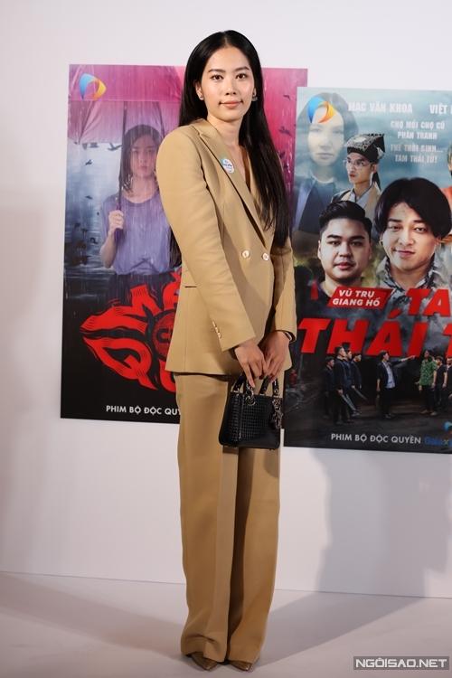 Hoa khôi Nam Em tham gia phim Đặc nhiệm hốt sao.