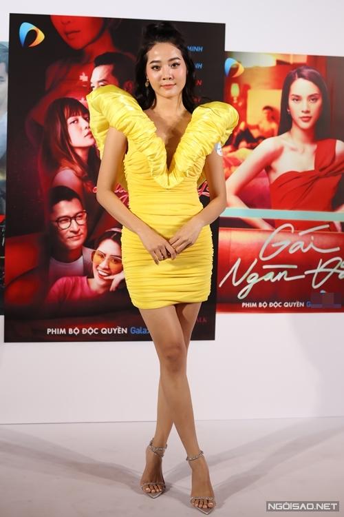 Diễn viên Karen Nguyễn đóng phim Đặc nhiệm hốt sao.