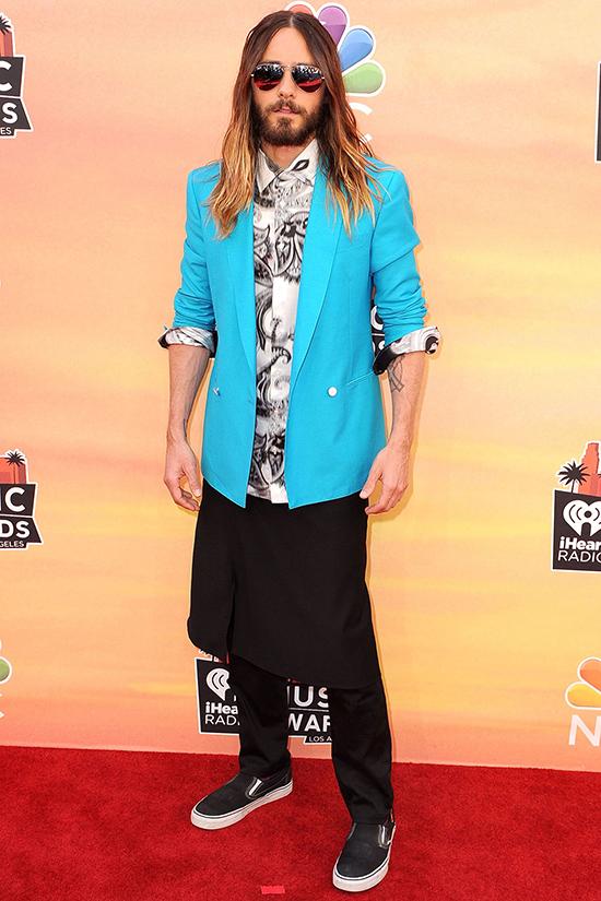 Jared Leto at iHeartRadio Music Awards 2014