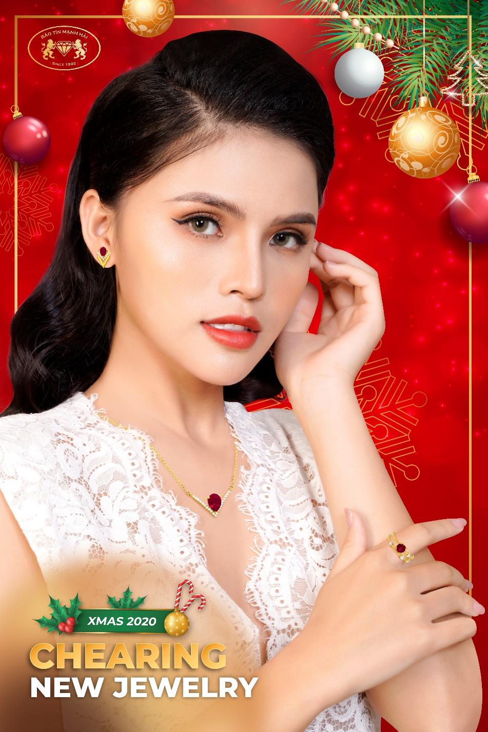Bảo Tín Mạnh Hải ra mắt bộ sưu tập trang sức vàng tây gắn đá Chearing đón mùa lễ hội 2020.