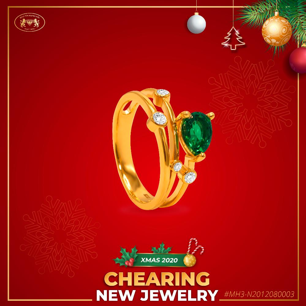 Bảo Tín Mạnh Hải ra mắt bộ sưu tập trang sức Giáng sinh - 5