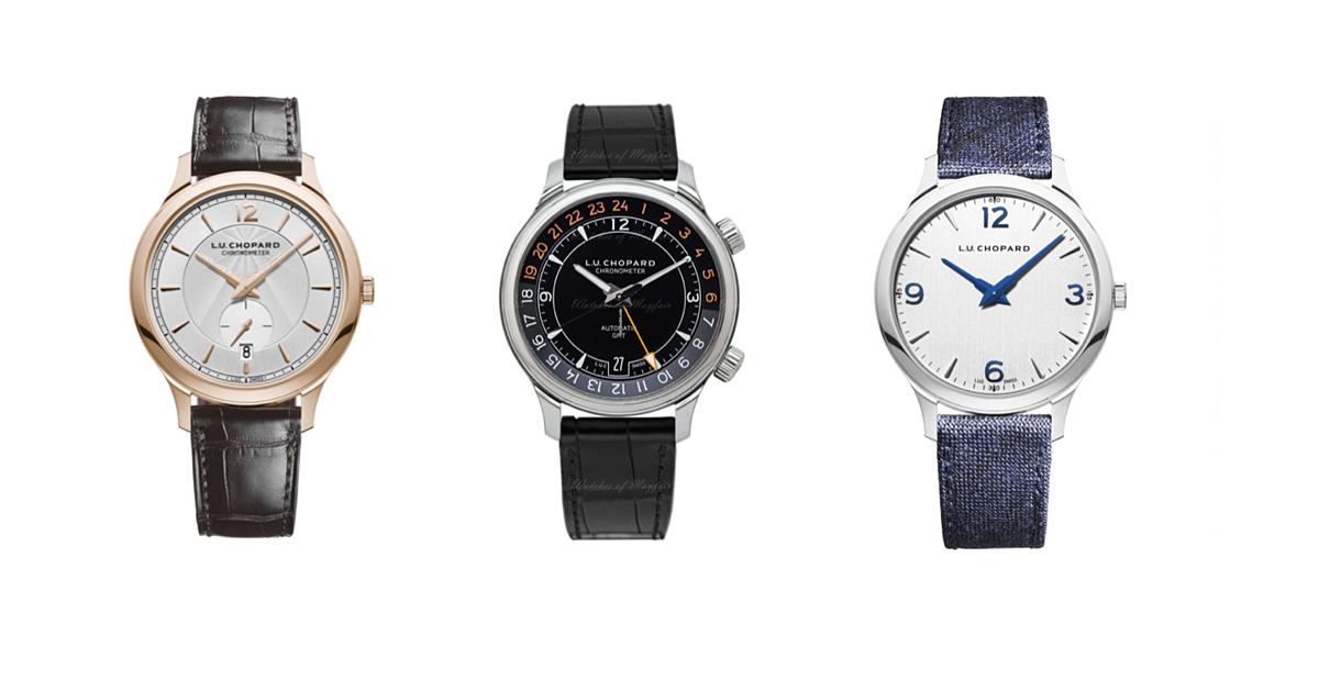 Đúng như cái tên viết tắt của người sáng lập nên Chopard, dòng đồng hồ L.U.C đúc kết tinh hoa sản xuất đồng hồ của thương hiệu này. Những chiếc L.U.C gây ấn tượng với thiết kế siêu mỏng, phù hợp với các quý ông thanh lịch và hiện đại. Dòng sản phẩm này còn được trang bị chronograph, lịch vạn niên chính xác, kỹ thuật cao cấp trong chế tác đồng hồ cùng lớp vỏ vàng trắng và vàng hồng sang trọng.
