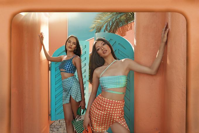 Nhằm giúp phái đẹp thỏa sức sáng tạo mix-match khi sử dụng bikini, nhà mốt Việt còn mang tới các kiểu chân váy sexy dễ phối đồ mùa hè.