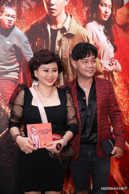 Nghệ sĩ Lê Giang và diễn viên Trịnh Minh Dũng.