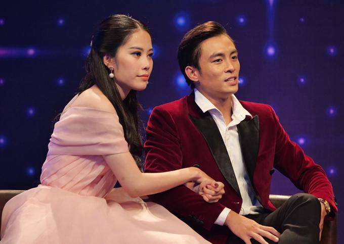 Lãnh Thanh và Nam Em trong show hẹn hò.