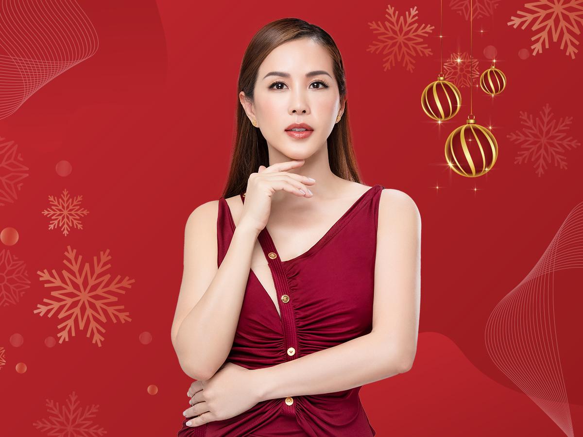 Hoa hậu Thu Hoài cho rằng diện mạo xinh đẹp giúp chị em phụ nữ tự tin hơn.  Ảnh: Khơ Thị.