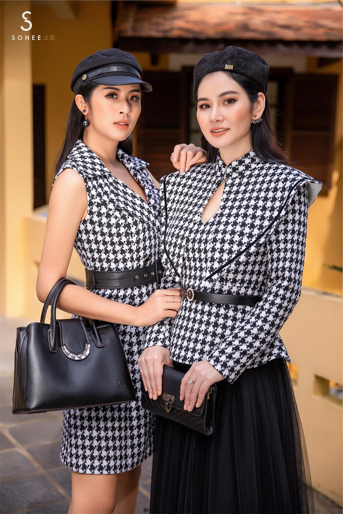 Trong chiến dịch quảng bá cho bộ sưu tập, thực hiện tại Đà Lạt, Hoa hậu Ngọc Hân vừa làm người mẫu cùng doanh nhân Hà Bùi vừa đảm nhận vai trò stylist cho bộ ảnh. Cô cho biết, cô mong muốn gợi ý cho khách hàng của Sohee các cách phối đồ, phụ kiện đơn giản nhưng hiệu quả.