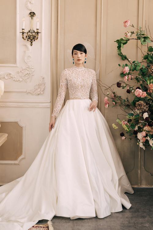 Váy cho nàng dâu không thích theo lối mòn - 6