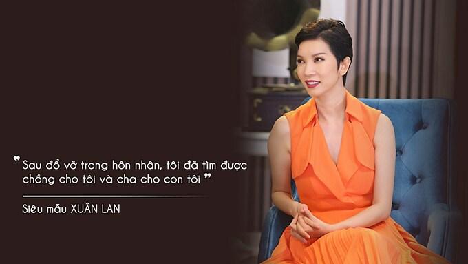 Xuân Lan hạnh phúc với cuộc hôn nhân hiện tại. Cô chia sẻ nhiều về đời tư của mình trong chương trình Chuyện Cuối Tuần chủ đề Tìm lại hạnh phúc sau đổ vỡ sẽ được phát sóng vào 21h35 hôm nay ngày 26/12 trên kênh VTV9.