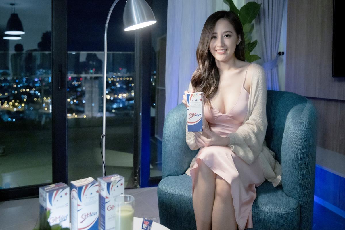 Hoa hậu Mai Phương Thúy sử dụng GM Diet hàng ngày để hỗ trợ giảm cân.