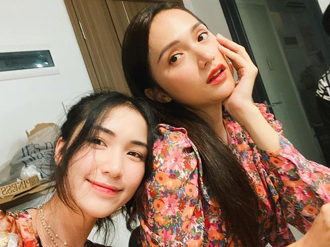 Hòa Minzy gọi Hương Giang thân thiết là chị gái và chúc mừng sinh nhật tuổi 29 của cô.