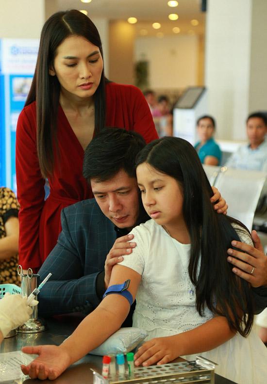 Anh Thư đóng vai Thuỷ - vợ Bình Minh trong phim.