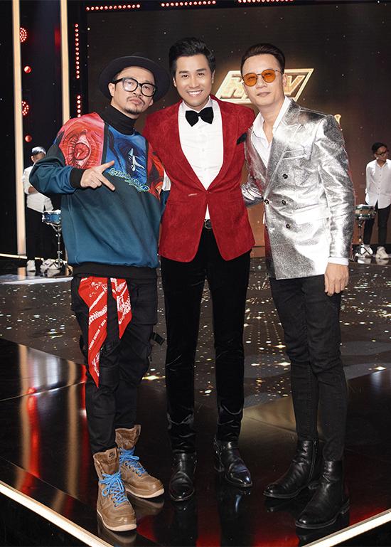 Nguyên Khang hội ngộ rapper Hà Lê và ca sĩ Hoàng Bách.