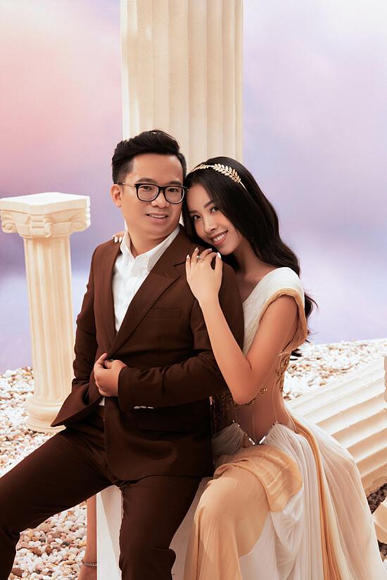 Á hậu Thúy An chụp ảnh cưới cùng chồng tiếng sĩ - 14