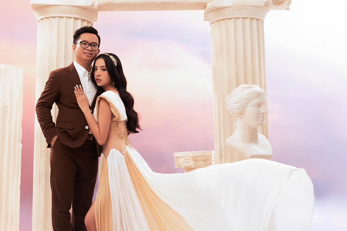 Á hậu Thúy An chụp ảnh cưới cùng chồng tiếng sĩ - 16