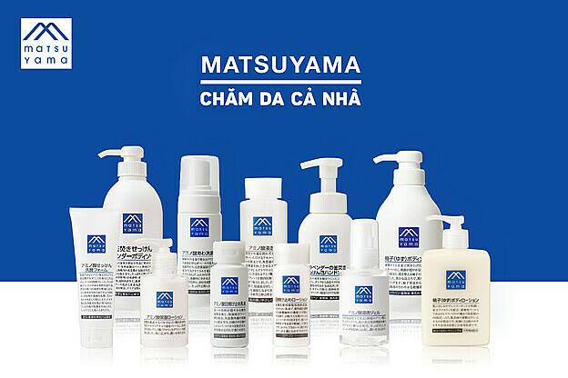 Matsuyama mang đến các sản phẩm chăm sóc và nuôi dưỡng làn da từ thành phần từ thiên nhiên, lành tính cho làn da cả gia đình. Ảnh: Facebook matsuyama.vietnam