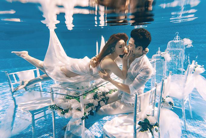 Dịch vụ chụp ảnh cưới luxury được đầu tư về ý tưởng độc đáo.