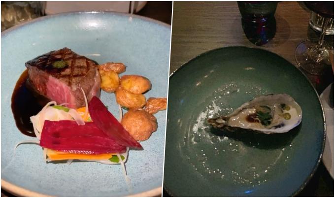 Các món ăn trong tiệc sinh nhật của Minh Nhựa.