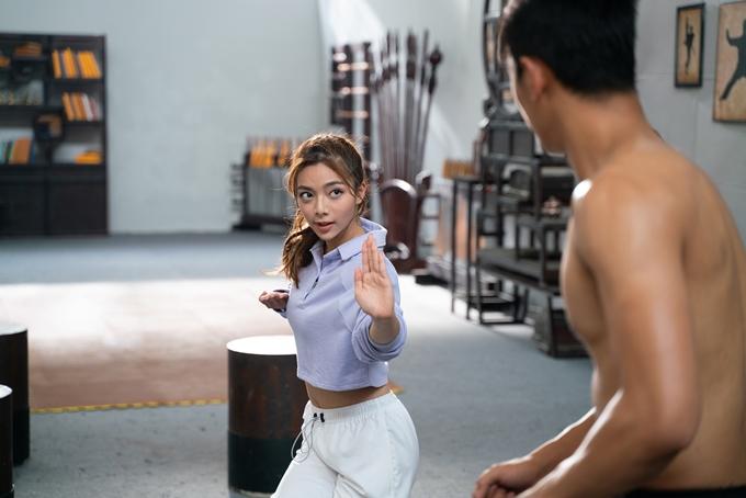 Katleen Phan Võ cho thấy sự tiến bộ về diễn xuất khi đóng chính Võ sinh đại chiến.
