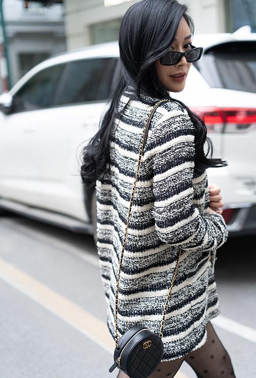 Trong chuyến công tác Hà Nội vào cuối năm 2020, diễn viên Mai Thanh Hà đã thực hiện bộ ảnh để lưu lại khoảnh khắc đẹp trong tiết trời đậm chất mùa đông.