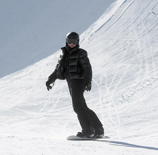 Kylie Jenner rất thích khu du lịch này và đam mê môn trượt tuyết.