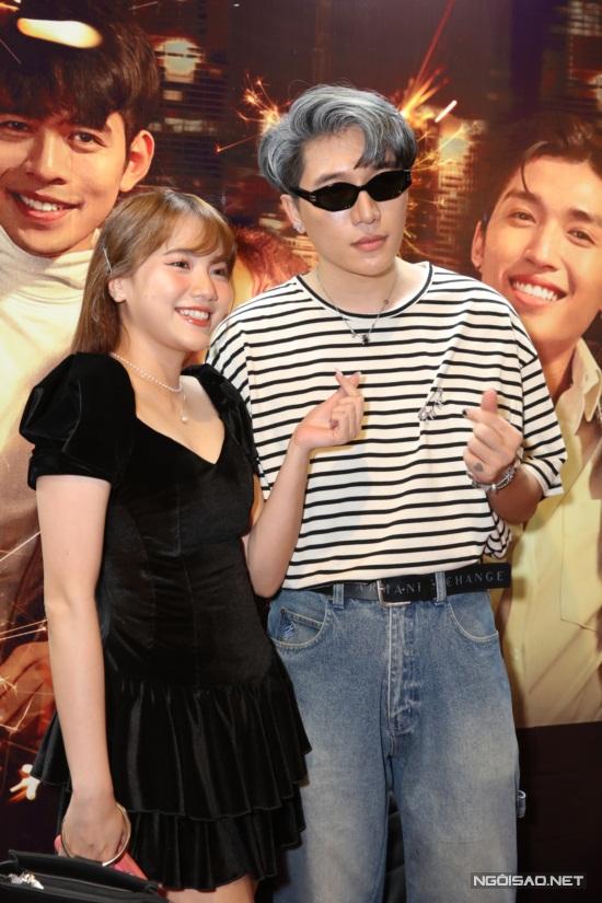 Ca sĩ Emma Nhất Khanh và nhạc sĩ Châu Đăng Khoa.