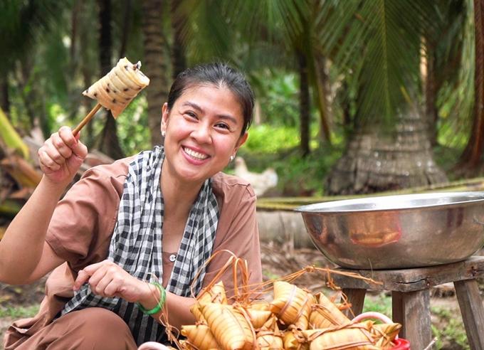 Diễn viên Kim Thư.