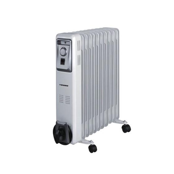 Lò sưởi dầu Tiross gồm 11 thanh nhiệt giảm 20% còn 1,59 triệu đồng lò sưởi dầu TS9217 có 3 chế độ chọn chỉnh nhiệt-11 thanh dầu dẫn nhiệt sưởi, thân thiện môi trường-rơ le có thể điều chỉnh mức nhiệt của máy, đồng thời bảo vệ khi quá nóng,-máy sẽ tự ngắt khi đổ- có bánh xe di chuyển dễ dàng-các dòng sưởi dầu Tiross đều rất ít tiếng ồn,nên không gây khó chịuLò sưởi dùng rất tốt trong phòng kín, từ khoảng 12-15M2-Lò dùng được cho mọi đối tựng sử dụng, kể cả trẻ sơ sinh vì không khí được làm ấm chứ không bị đốt cháy.không gây kho da...