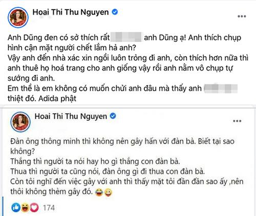 Hoa Hâu Thu Hoài và Dũng Taylor khẩu chiến vì Vân Quang Long Thu-hoai-1458-1609818864
