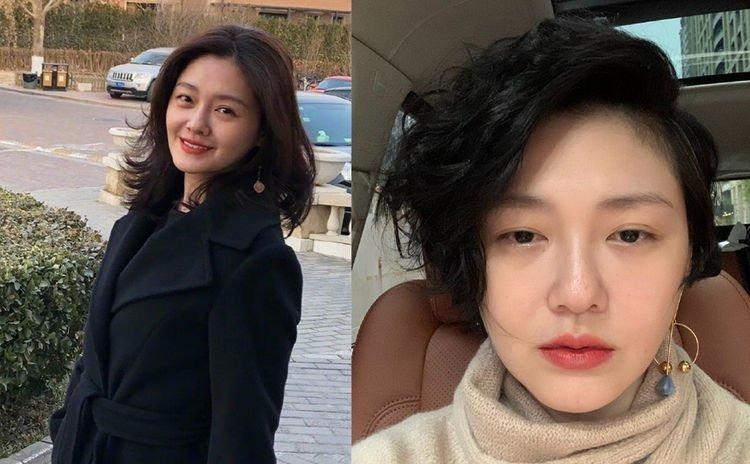 Vóc dáng, nhan sắc Từ Hy Viên có nhiều thay đổi kể từ ngày đóng Vườn sao băng, song diễn viên 7X vẫn giữ được làn da mịn màng, ít dấu hiệu tuổi tác.