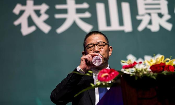 [Caption]Tỷ phú Zhong Shanshan, Chủ tịch Nongfu Spring Co.. Ảnh: Bloomberg.