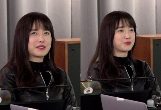 Goo Hye Sun trong show truyền hình.
