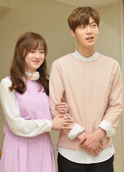 Goo Hye Sun và chồng cũ.