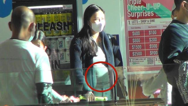 Ngày 5/1, truyền thông Hong Kong chụp được hình ảnh gia đình ba người nhà Nhạc Cơ Nhi đi mua sắm tại trung tâm thương mại ở Hong Kong. Trong hình ảnh báo chí chụp được, Nhạc Cơ Nhi bụng lớn thấy rõ, vóc dáng mập mạp. Một nguồn tin cho hay nữ diễn viên, người mẫu đang mang thai đứa con thứ hai, em bé trong bụng được tầm 4-5 tháng.
