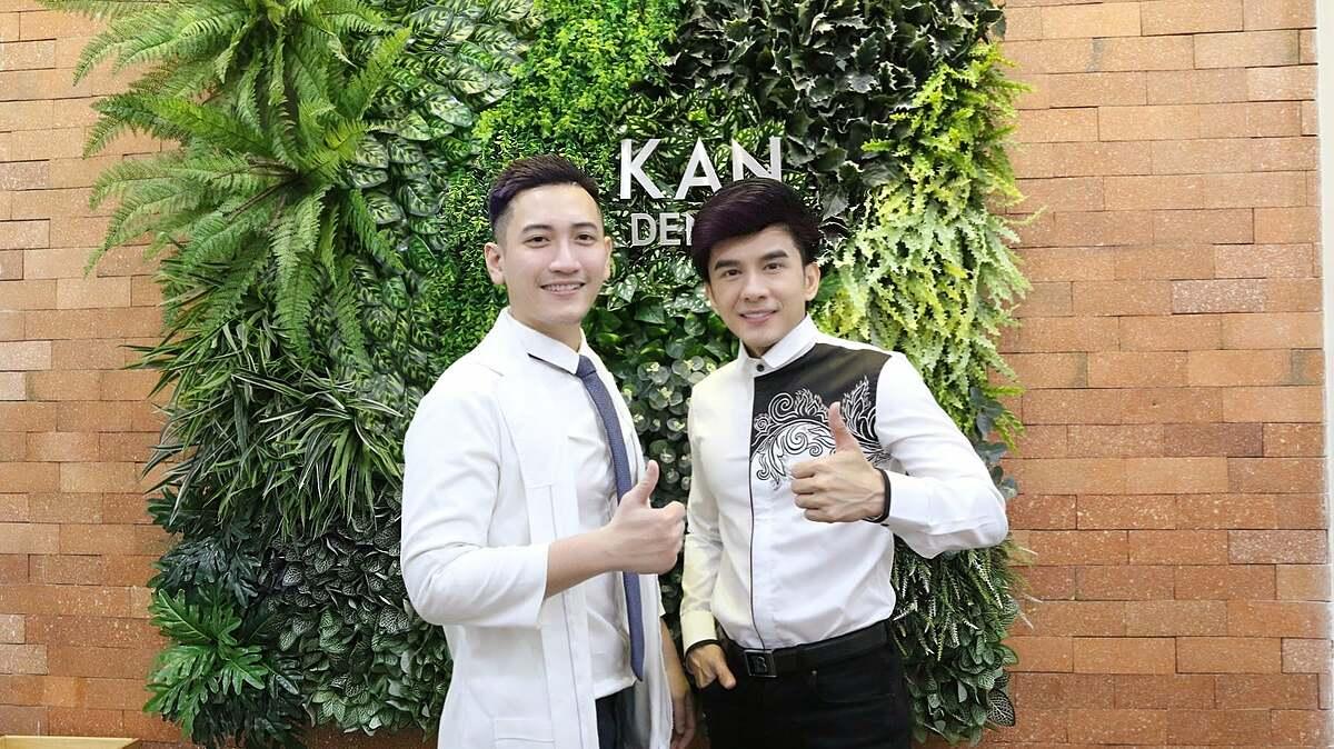 Bác sĩ Khánh Anh và ca sĩ Đan Trường.