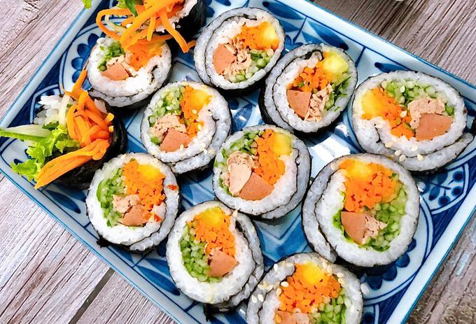 Kimbap cá ngừ - 2