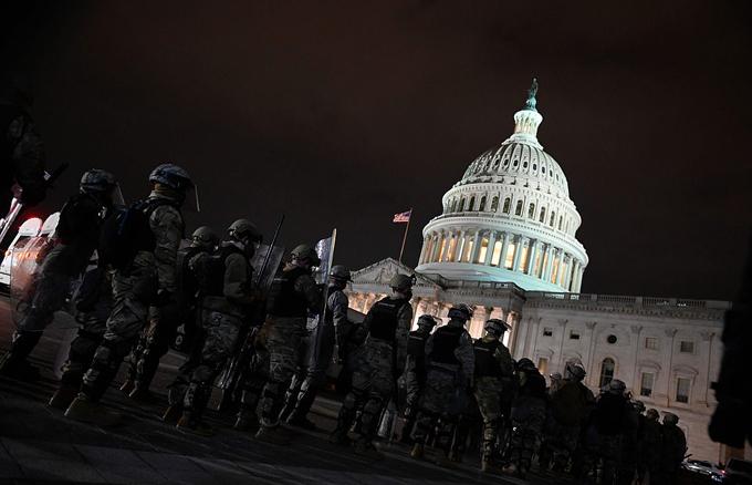 Lầu Năm Góc đã phải huy động khoảng 1.100 thành viên Vệ binh Quốc gia Đặc khu Columbia để hỗ trợ thực thi pháp luật.