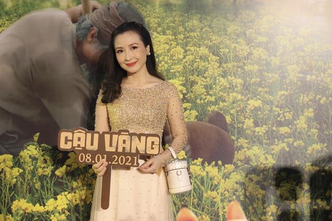 Diễn viên Khánh Huyền đảm nhận vai vợ hai của Bá Kiến.