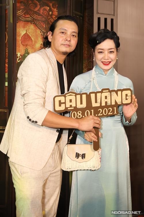 Đạo diễn Trần Vũ Thủy và NSƯT Chiều Xuân - người vào vai vợ cả của Bá Kiến.
